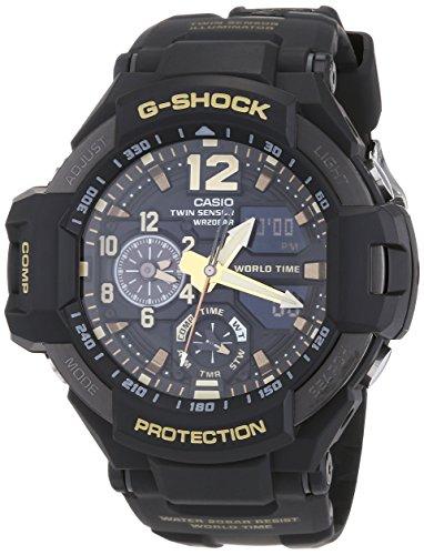 Reloj Casio para Hombre GA-1100GB-1AER, negro