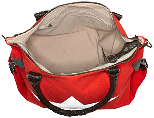 Bags4Less - F3151, Borsa a tracolla Donna Rosso (Rot)
