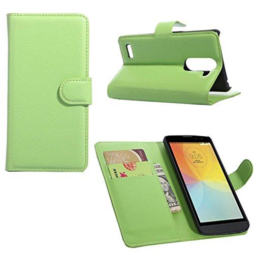 Guran® Funda de Cuero Para LG L Bello (5.0 pulgada) Smartphone Tirón de la Cubierta de la Función de Ranura Tarjetas y Efectivo Caso