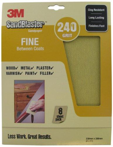 3m-sandblaster-28240-fine-p240-230-x-280mm-between-coats-sandpaper-sheets-8-sheets