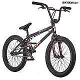 KHE BMX Fahrrad Dirty Harry 20 Zoll patentierter Affix 360° Rotor schwarz 11,4kg