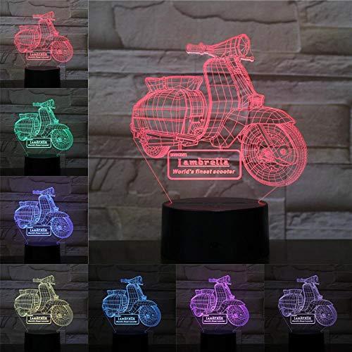 Mountainbike Rennrad 3D-Licht Nachtlicht LED-Lampe Multicolor-Blitz verblassen vulkanische Beleuchtung Urlaub Requisiten Geschenke Männer Schlafzimmer Nachtlicht ## 1