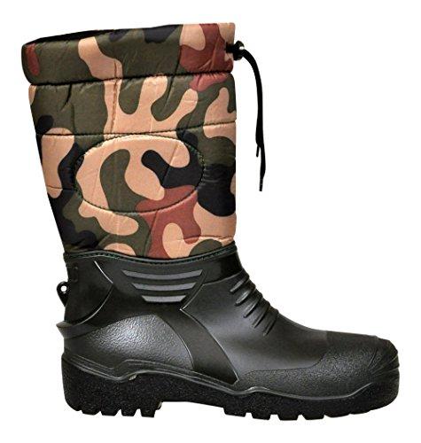 Lukpol Mens Rain Boots Wellingtons Vermount 410