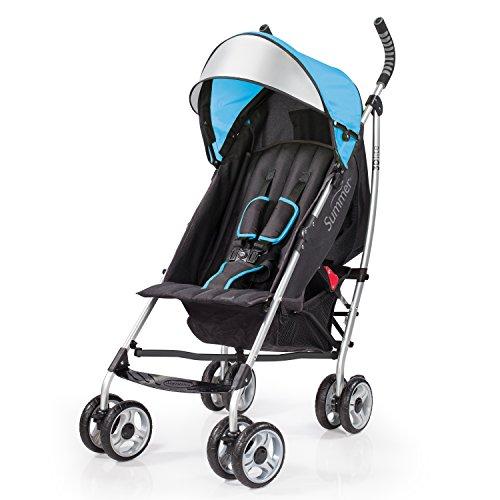 Summer Infant 2015 3D Lite Convenience Stroller, Caribbean Blue
