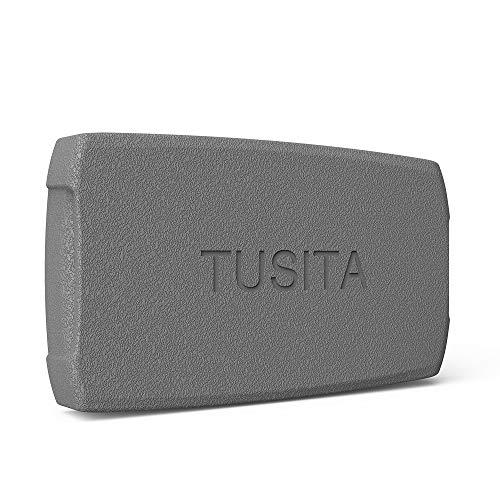 TUSITA Hülle für Lowrance Elite 4 HDI, Mark 4 HDI, Hook 4 4X - Silikon Schutzhülle Skin - Handheld GPS Navigator Zubehör (Gps-handheld Lowrance)