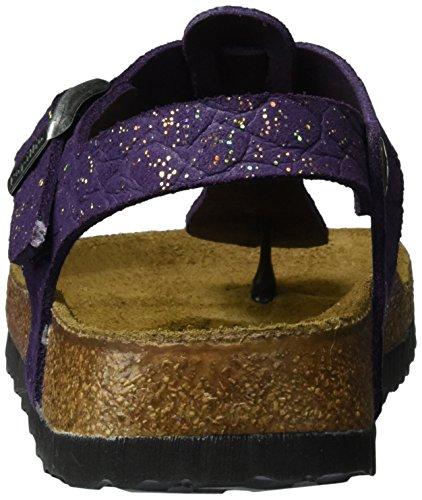 Papillio Kairo Leder, Scarpe Col Tacco con Cinturino a T Donna Violett (Grace Violet)