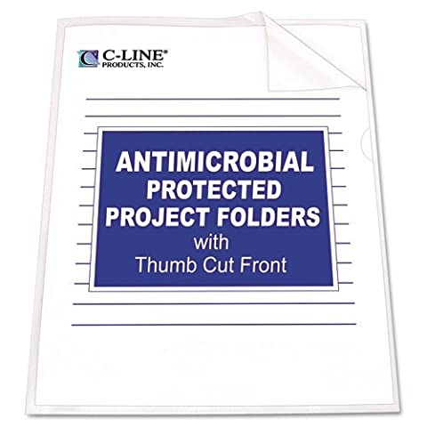 CLI62137 - Antimicrobial Project Folders by C-Line®