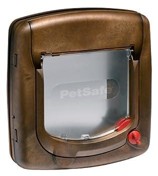 PetSafe  Chatière Staywell à Verrouillage 4 Positions Bois Grain Série 300