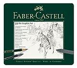 Faber Castell 112973 Graphite Metalletui 19 teilig