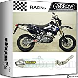 Arrow Auspuff Race Thunder Off-Road Aluminium Suzuki DR-Z 400 SM 2005 05 2006 06 72005ta