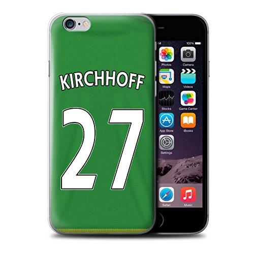 Offiziell Sunderland AFC Hülle / Case für Apple iPhone 6S+/Plus / Pack 24pcs Muster / SAFC Trikot Away 15/16 Kollektion Kirchhoff
