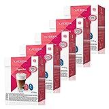 Café Royal Cappuccino, 5er Set, Kaffee, Milch Kaffeekapsel Nescafé Dolce Gusto Kompatibel, Rot, 80 Kapseln