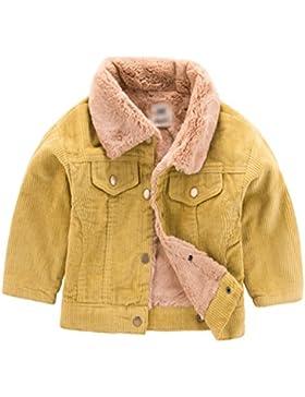 [Sponsorizzato]Yuncai Moda Bambine Ragazze Ragazzi Inverno Giacca Spessi Caldo Bambini Cappotto Abbigliamento