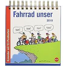 Butschkow Fahrrad unser Aufstell-Postkartenkalender - Kalender 2019