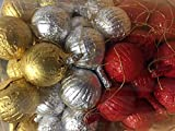 Chocolate Christmas Tree Decorations Baubles x 100