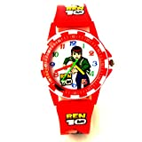 VITREND (R-TM) Ben-10 Ana log New Look Birthday Gift Watch For Boys And Girls (Random color will be sent )