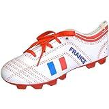 Trousse à crayons stylos Chaussure de foot France Blanc rouge et bleu La Chaise Longue