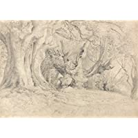 Samuel Palmer Antica Alberi, Lullingstone Park C1828Riproduzione su carta lucida