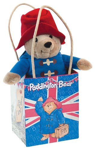Paddington Bear in Union Jack Gift Bag