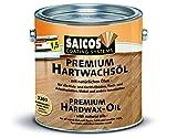 Saicos 500 3200 Seidenmatt Hartwachs-Öl, farblos, 2,5 Liter