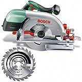 """Bosch Scie circulaire """"Expert"""" PKS 66 A avec butée parallèle et lame de scie 0603502002"""
