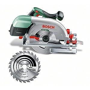 51QkwJc2PjL. SS300  - Bosch Home and Garden 0.603.502.002 Sierra circular portátil, 1600 W, 240 V