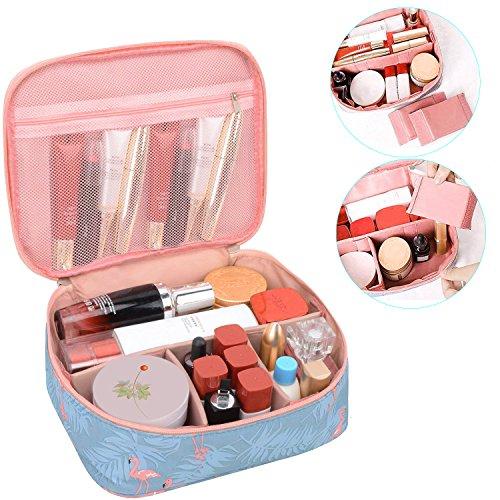 HR Direct Frauen Kulturtasche, Damen bzw. Mädchen Make-up-Tasche, Kulturbeutel, Wasch-, Kosmetiktasche für zum Beispiel Make-up Pinsel, ideal für Reisen geeignet(Rosa)