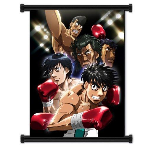 Keine Ippo Fighting Spirit Hajime Anime Fabric Wall Scroll Poster (40.64 cm x 53.34 cm)