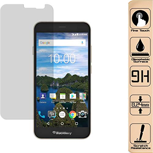 D.R.Company 2X 9H - HD 2,5D Schutzglasfolie Handy Folie Full Cover Für Original BlackBerry Aurora 0,4mm Ultra Dünn