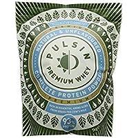 Pulsin Unflavoured Whey Protein Powder 1kg, 75% Protein,Gluten Free, Natural, Grass Fed
