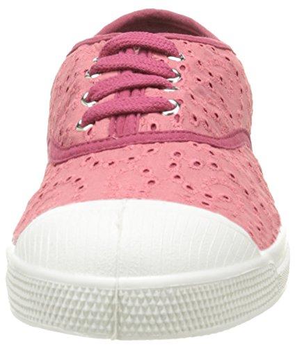 Bensimon Damen Tennis Broderie Anglaise Low-Top Pink - Rose (410 Rose)
