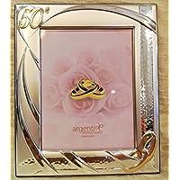 Amazon It 50 Anniversario Matrimonio Cornici Foto Decorazioni Per