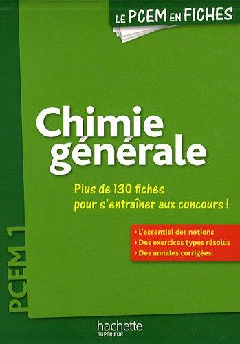 Chimie générale PCEM 1