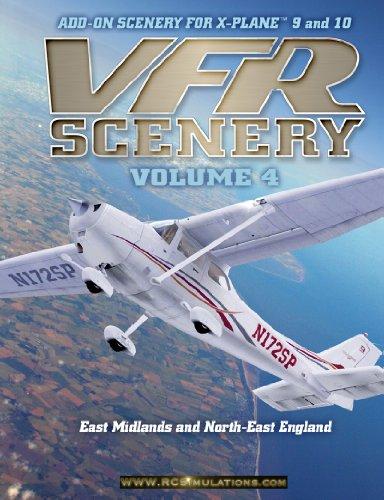 X Plane 9 VFR Scenery Vol 4 (NE England and E Midlands) [import anglais]