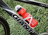 Portable 750ml Sports Drink Water Bottle Outdoor Bike Bicycle Cycling red