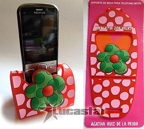 Halterung für Mobiltelefon/MP3Agatha Ruiz De La Prada Blume Topos