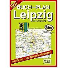 Buchstadtplan Leipzig und Umgebung, Maßstab der Karten 1:20.000