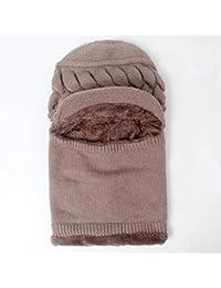 JINSU Sombreros de Mediana Edad y Ancianos, señoras, Invierno, Espesar, Madre unida