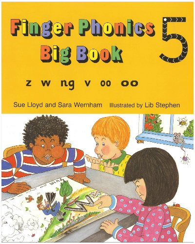 Finger Phonics (Jolly Phonics: Finger Phonics)