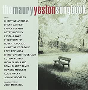 Maury Yeston Songbook,the [Import anglais]