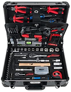 "KS Tools 911.0727 Uni tool kit, 127pcs,1/4""+1/2"" (B0071DNUWO) 
