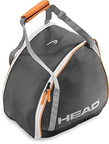 Head–Bolsa para botas de esquí unisex, color gris/negro/naranja, talla única