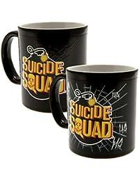 Escuadrón Suicida - Taza oficial con efecto térmico que cambia ... 3543068545f