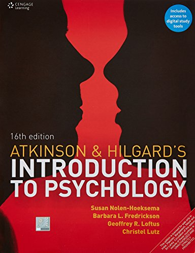 Atkinson And Hilgards Introduction To Psychology, 16Th Edn