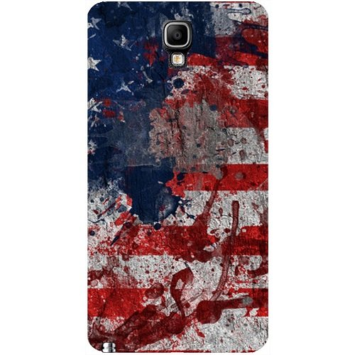 Casotec Painting American Design Hard Back Case Cover for Samsung Galaxy Note 3 Neo  available at amazon for Rs.149