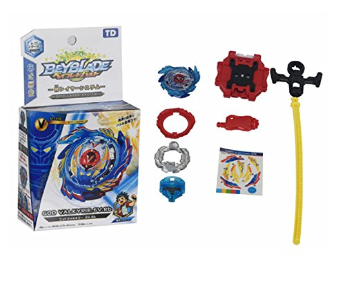 AncientKart Beyblade Burst God Valkyrie.6v.rb. B73 with Launcher and Accessories