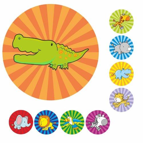 234 Safari Animal Praise Stickers Teacher Parents Children
