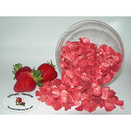 Erdbeeren / Stücke gefriergetrocknet 500g ohne Zusätze von Schmütz-Naturkost, Trockenfrüchte