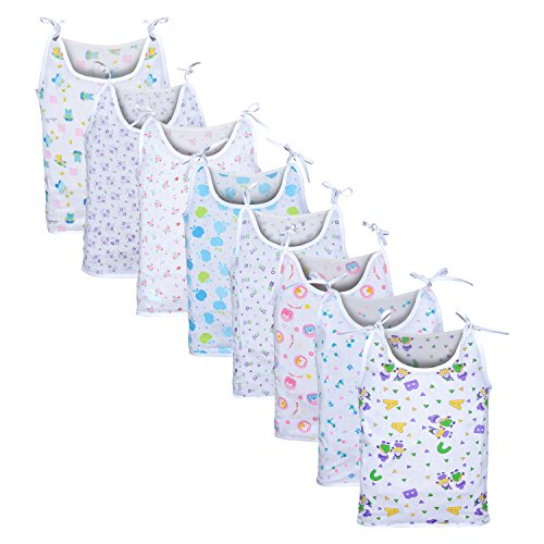 Orange and Orchid Baby Jabla for Just born,Infants - Pack of 8 (0-6 Months)