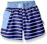i play. 722185-646-47 Schwimmwindel Board Shorts, 2-3 Jahre, Stripe, royal